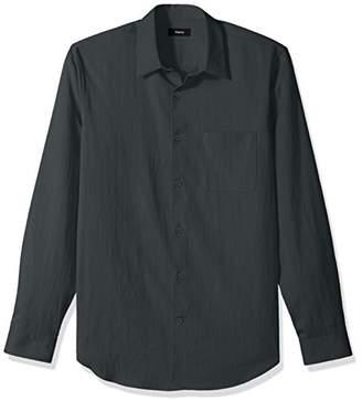 Theory Men's Long Sleeve Drape Tencel Woven