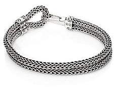 John Hardy Men's Classic Chain Sterling Silver Station Bracelet