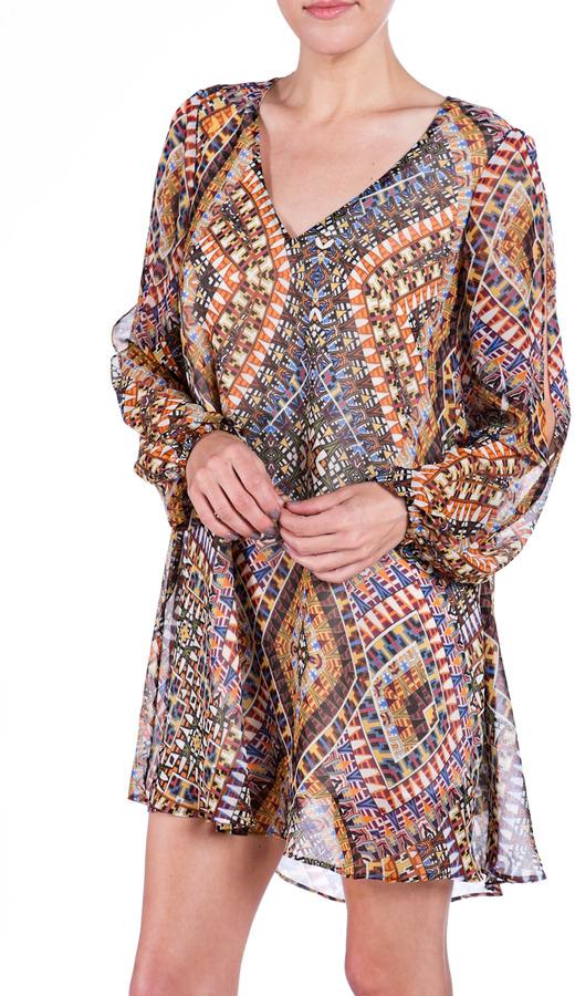 LAVENDER BROWN Baby Doll Dress