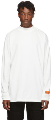 Heron Preston White Style Long Sleeve T-Shirt