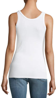 Majestic Basic Soft Touch Scoop-Neck Tank