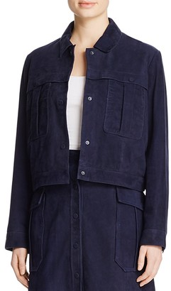 Whistles Romy Suede Jacket - 100% Bloomingdale' Exclusive $800 thestylecure.com