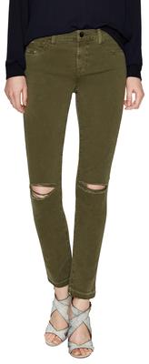 J BrandMid Rise Skinny Leg Jean