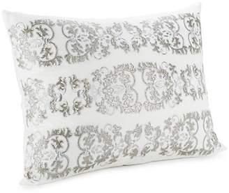 Callisto Home Vivara Metallic Embroidered Cotton Sham