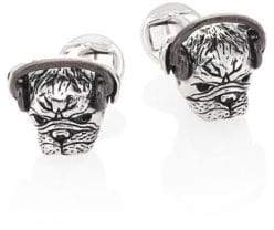 Saks Fifth Avenue COLLECTION Headphones Plugged Pug Cuff Links
