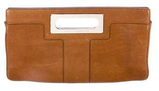 Anya Hindmarch Leather Handle Clutch