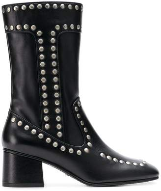 Coach studded boots