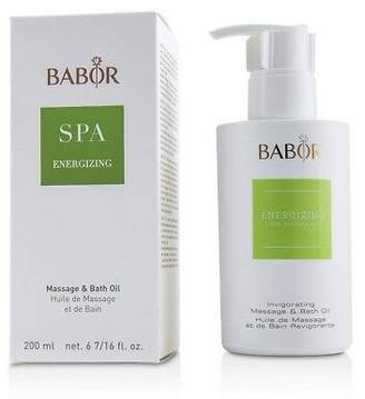 Babor NEW  SPA Energizing Massage & Bath Oil 200ml Womens Skin Care