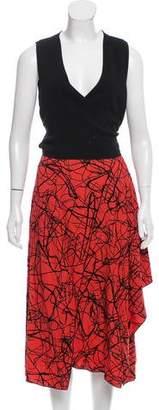 Proenza Schouler Layered Midi Dress w/ Tags