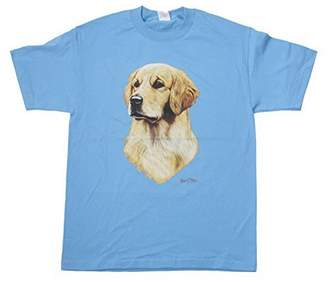 Golden Retriever Gravity Trading Print T Shirt, XXXL
