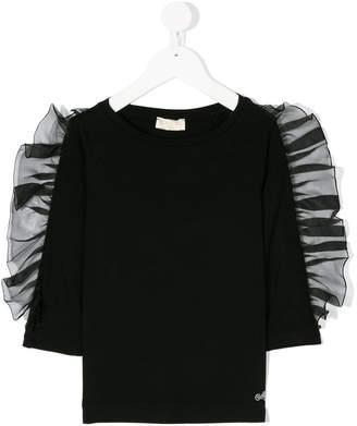 MonnaLisa ruffle sleeve blouse