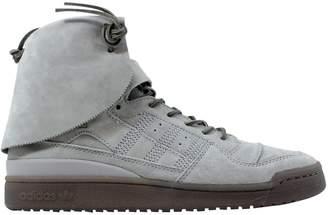 adidas Forum Hi Moc Stone/Stone-Clay
