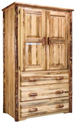 Loon Peak Tustin Wooden TV-Armoire