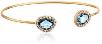 Tai Double Montana Blue Cuff Bracelet