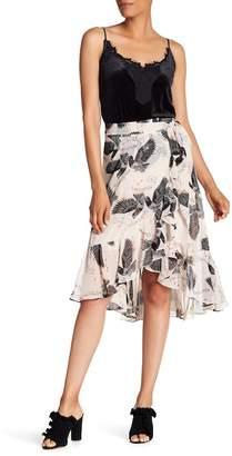 Rebecca Minkoff Selena Ruffled Midi Skirt