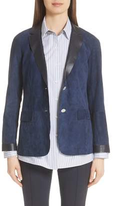 Lafayette 148 New York Vangie Suede Jacket