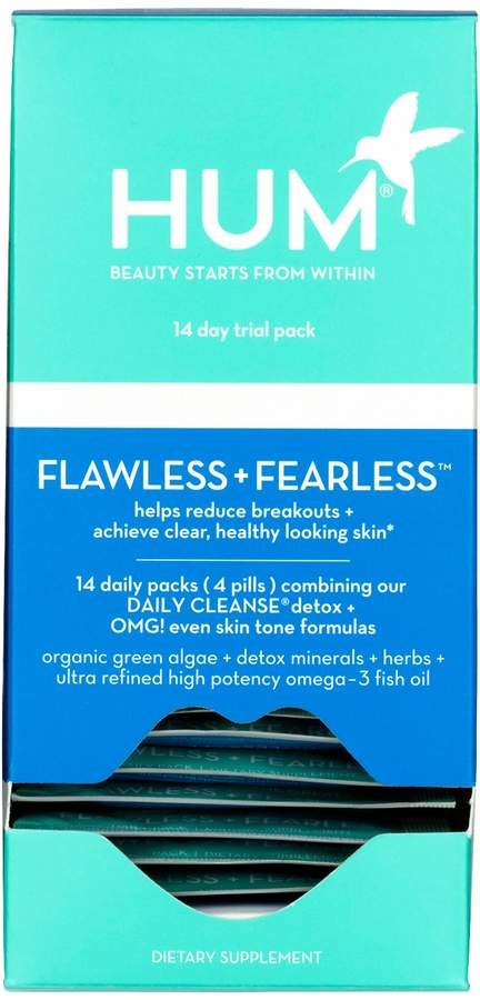 Hum Nutrition HUM Nutrition - Flawless + Fearless Clear Skin and Acne Kit
