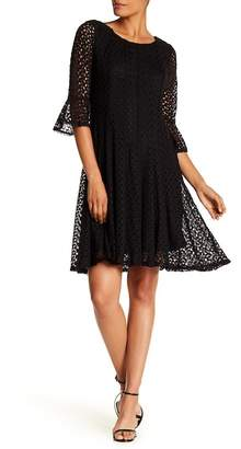 Rabbit Rabbit Rabbit Missy Little Black Lace Dress