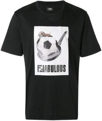 Fendi football T-shirt