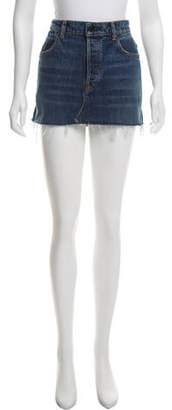 Alexander Wang Denim x Denim Mini Skirt w/ Tags