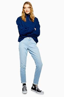 Topshop Womens Bleached Lucas Jeans - Bleach Stone
