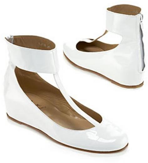 Opening Ceremony Patent T-Strap Flat
