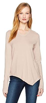 Wilt Women's V-Neck L/s Double Slant Hem