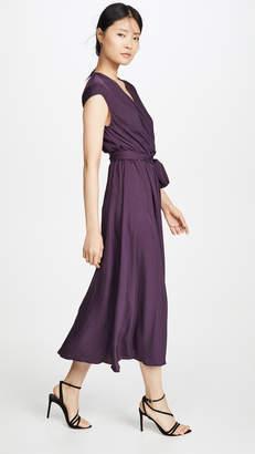Jason Wu V Neck Wrap Dress