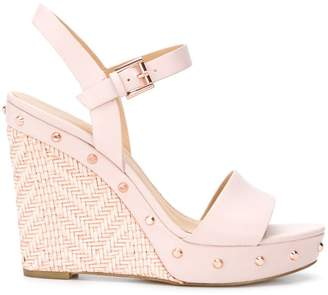 MICHAEL Michael Kors Jill studded wedge sandals