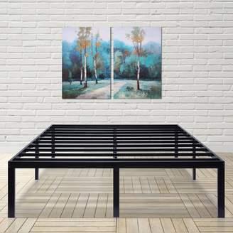 """Alwyn Home 16"""" Metal Steel Bed Frame"""