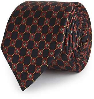 Reiss Carlo Floral-Patterned Silk Tie