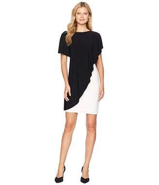 Lauren Ralph Lauren Matte Jersey Naila Short Sleeve Day Dress