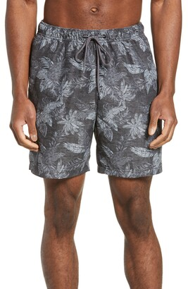 Tommy Bahama Naples Coast Faded Palms Classic Fit Swim Trunks