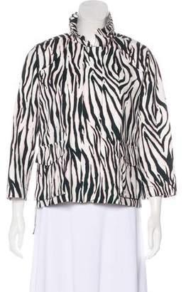 Giamba Three-Quarter Sleeve Jacket