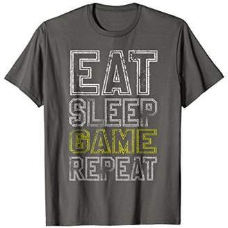 Gamer Shirt - Eat Sleep Game Repeat T-shirt For Gaming