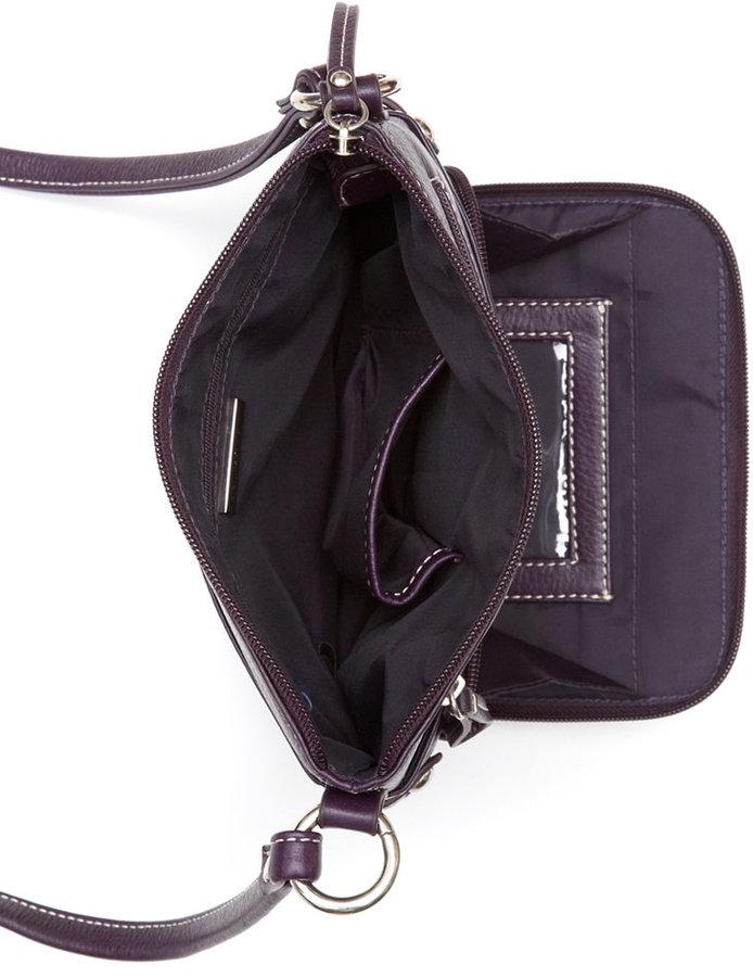Giani Bernini Handbag, Pebble Leather Crossbody Bag, Small 4