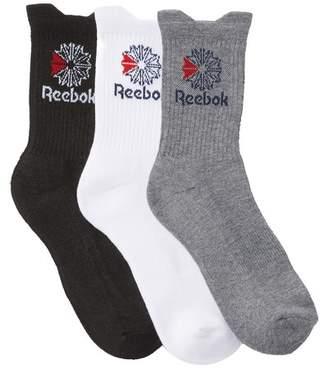 Reebok Classic Mid Crew Socks - Pack of 3