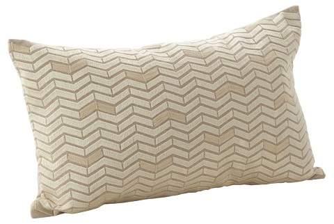Saro Lifestyle Chevron Pillow