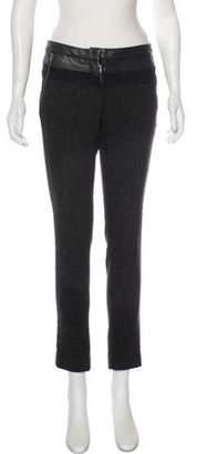 A.L.C. Wool Blend Mid-Rise Skinny Pants