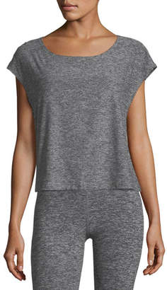 Beyond Yoga Cut and Run Boxy Athletic Tee