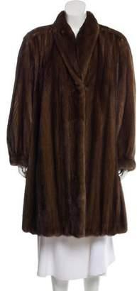 Givenchy Mink Fur Coat