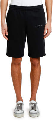 Off-White Off White Men's Unfinished Sweat Shorts
