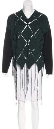 Proenza Schouler Patterned Oversize Sweater w/ Tags