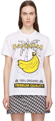 Stella McCartney White Bananas T-Shirt