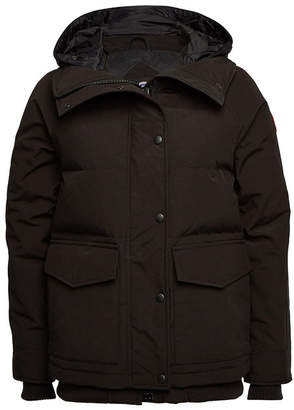Canada Goose Deep Cove Down Filled Bomber Jacket with Hood