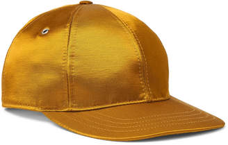 Ami Logo-Appliqued Satin-Twill Baseball Cap