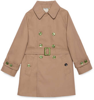 Children's trench coat with tiger $1,250 thestylecure.com