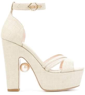 Nicholas Kirkwood Maya pearl sandals