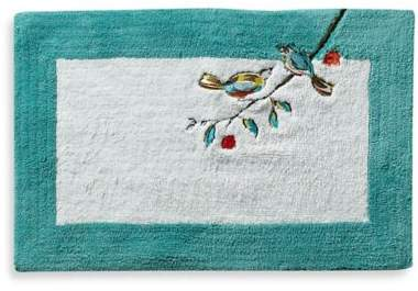 Simply Fine Chirp 100% Cotton Bath Rug