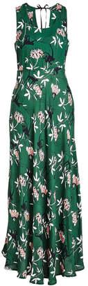 Markus Lupfer Monkey Flower Crepe Dress